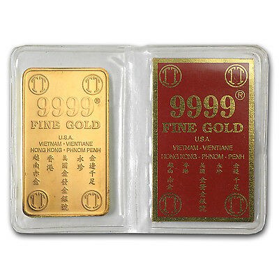 37.50 gram Gold Bar - Vietnam (Mot Luong, 1.2057 oz) - SKU #61877