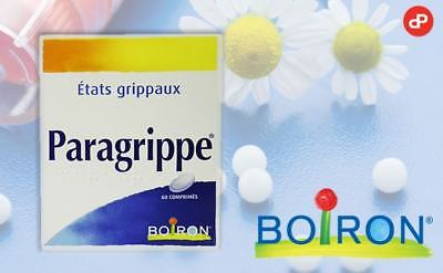 Boiron PARAGRIPPE  homeopathic treatment for Flu Infections UK Stock!