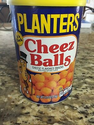 Planters Cheez Balls 2018! New and unopened.
