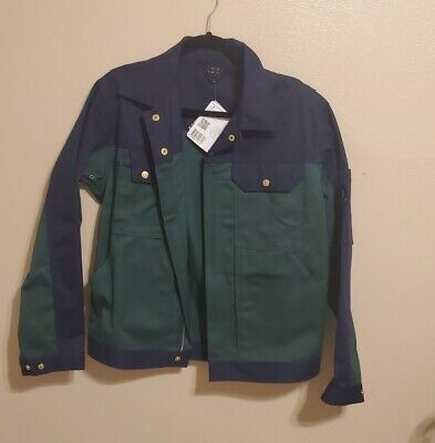 NWT Mascot Men Jacket Waterproof  Workwear Waxed Cotton  MEDIUM