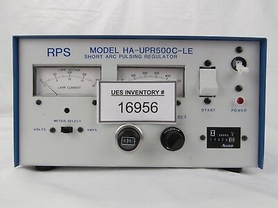 RPS Radiation Power Systems HA-UPR500C-LE Lamp Short Arc Pulsing Regulator Used