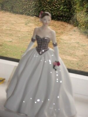 Royal Worcester Figure Of The Year Cathrine