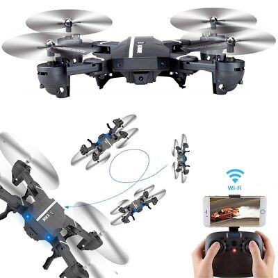 Mini 8807W Foldable With Wifi FPV HD Camera 2.4G 6-Axis RC Quadcopter Drone Toys