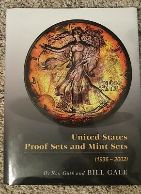 2002 Us Proof & Mint Sets 1936-2002 Ron Guth & Bill Gail Signed Book Autopgraph