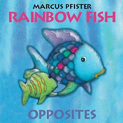 Rainbow Fish Opposites by Pfister, Marcus Board book Book The Cheap Fast Free