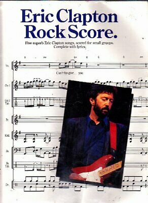 Eric Clapton rock score by Clapton, Eric Book The Cheap Fast Free Post