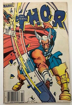 The Mighty Thor #337 F+ (6.5) 1st Appearance Beta Ray Bill 1983