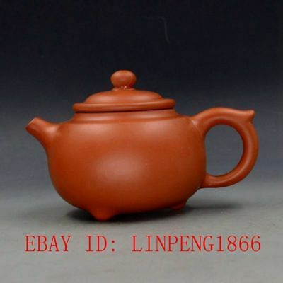 Chinese Yixing Zisha Handmade Teapot Made By Zhou Zhichen L2