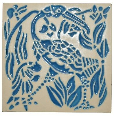 Rookwood Pottery 1998 Art Deco Bird Trivet 6778