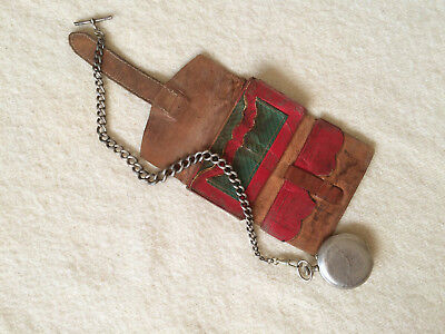 Original Antique Civil War Era Leather Wallet