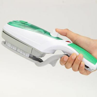 1000W Handheld Electric Iron Steam Brush Fabric Laundry Clothes Home Portable