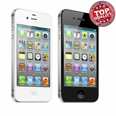 (NEW SEALED BOX) Apple iPhone 4s - 4G Smartphone - 16GB 32GB 8GB Unlocked EH