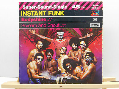 "Instant Funk - Bodyshine / Scream And Shout (12"") 2"