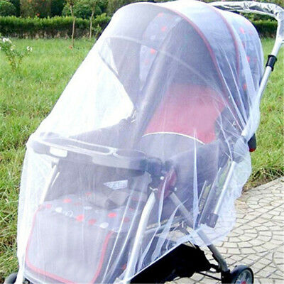 Newborn Infant Baby Stroller Crip Net Pushchair Mosquito Insect Net Safe Meshxp