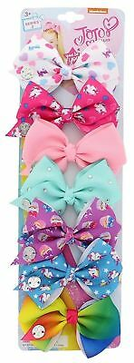 JoJo Siwa Days of the Week Hair Bows Set of 7 Pink Purple Blue Series 2 Girls