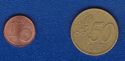 GERMANY - Euro Generation Coins - 50 & 1 Cents - for Collectors or Travellers