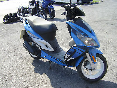 Sym Jet 50 X 2007 Non Runner Spares Or Repair Smart Moped