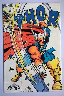 The Mighty Thor #337, FN, Marvel Comics, 1st Appearance Beta Ray Bill 1983