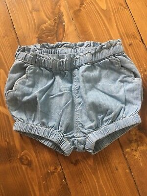 Gap Girl 3-6 Months Denim Shorts