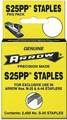 Arrow S25PP 2,400 Staples For Vtg Old Desktop Small Stapler DC25 S25 M25 A44