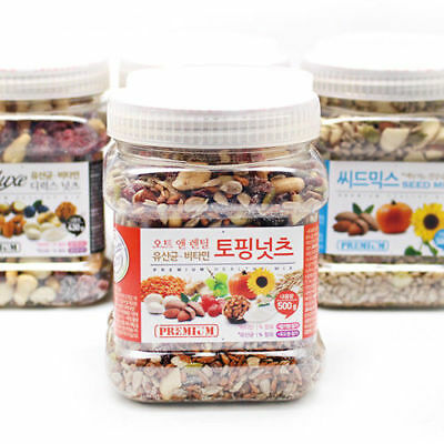 500g TOPPING NUTS Almond Raisin Cranberry Seed Nut Bean Delicious_Va