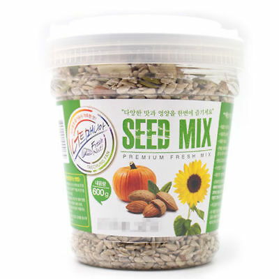 600g SEED MIX Sunflower Pumpkin Seeds Almond Nutricious Delicious Snack_Va