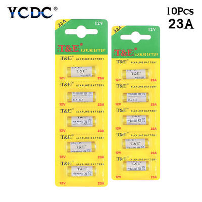 10 x 23A 12V Alkaline Batteries 23AE MS21 A23 V23GA For Remote Control Radio 6D