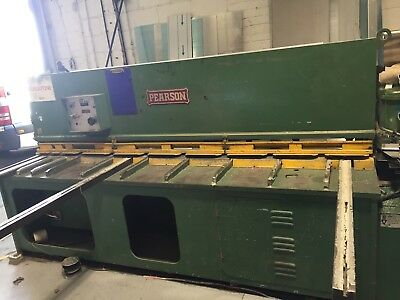 Pearson 2500mm x 8mm Hydraulic Guillotine