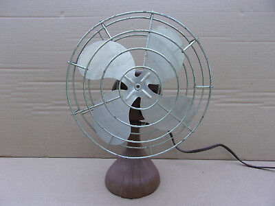 "Vintage Lee - Aire 8"" Table Desk  Fan Catalogue DF8  1 Speed"