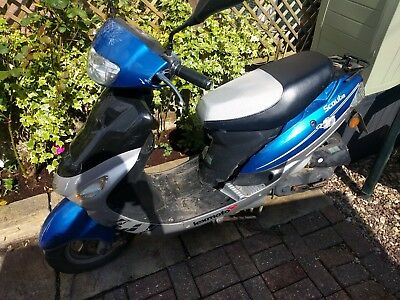 2015 Lexmoto Scout - 7922m, MOT August 2018 - SPARES OR REPAIRS