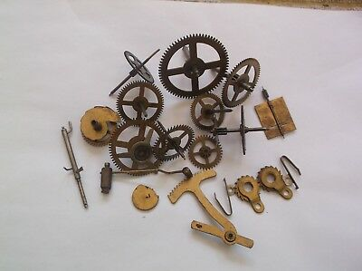 Cogs Etc  From An Old Perivale  Mantle Clock