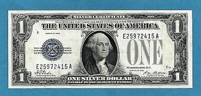 "1928 $1 United States Note BLUE Seal FR1600 ""Monopoly"" Back Choice Uncirculated"