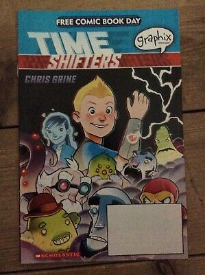 Time Shifters Free Comic Book Day 2017 special new