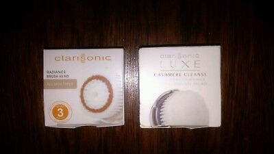 Lot de 2 Tête/ Embouts Luxe Cashmere Cleanse+ Radiance Brosse Clairsonic