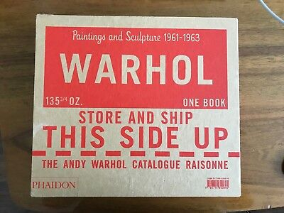 Andy Warhol Paintings: A Catalogue Raisonne of the paintings volume 1