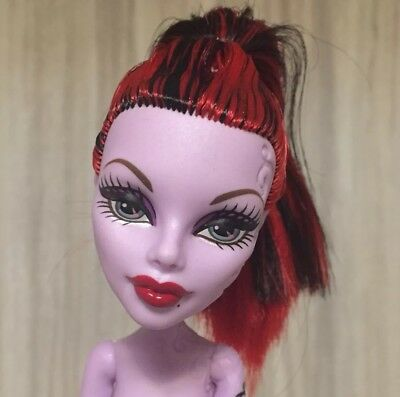 Monster High OPERETTA BOO YORK NEW Nude Doll ONLY LOOSE to OOAK Play