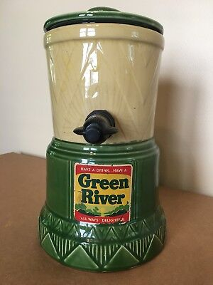 Green River Syrup Dispenser WITH LID from Cordley Co. New York