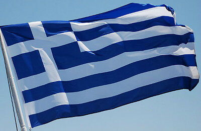 Greece Flag New 3x5 ft Greek indoor outdoor better quality usa seller