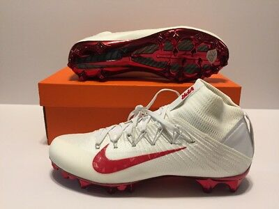 ebeee2b2f34 NIKE VAPOR UNTOUCHABLE 2 Jewels Football Cleats 835831-160 Mens Sz 11  White Red -  69.99