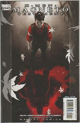 X-Men: Magneto Testament #1 (Nov 2008, Marvel)