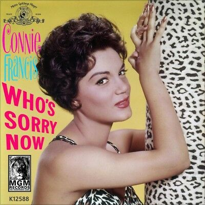 "7"" CONNIE FRANCIS Who's Sorry Now /You Were Only Fooling MGM 45rpm US-Press 1957"