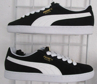 huge selection of 125c4 6b621 MEN'S PUMA SUEDE Classic BBOY Fabulous Sneakers, New Blk White Walking  Shoes 11