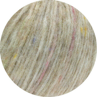 Wolle Kreativ! Lana Grossa - Lala Berlin Lovely Fine Tweed - Fb. 102 beige 50 g