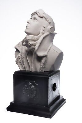 RAF Sgt J.H Ginger Lacey Bust, Marble Sculpture, Gift. Art, Ornament.