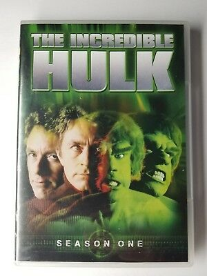 The Incredible Hulk: Season 1 (4-Disc DVD Set, 2014) Free Shipping