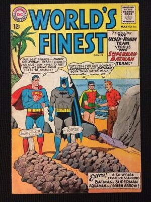 World's Finest #141 Silver Age 1964 Vg