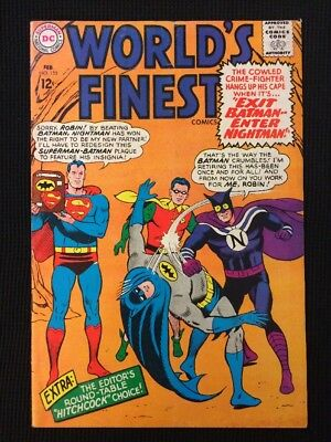 World's Finest #155 Silver Age 1966 Fn/Fn+