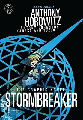 Stormbreaker Graphic Novel (Alex Rider) by Johnston, Antony Book The Cheap Fast