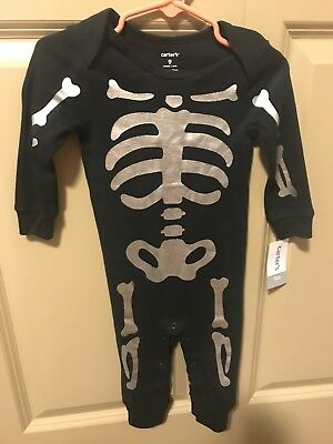 Carters Halloween Skeleton Outfit
