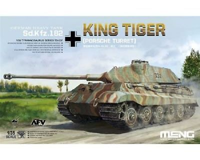 Meng German Sd.kfz.182 King Tiger Porsche Turret 135 Ts037
